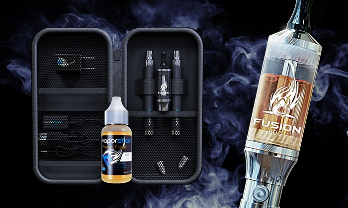 Vapor Shark - Multiple Locations: E-Cigarette Starter or High-Performance Kit from   Vapor Shark (Up to 60% Off)