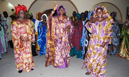 Senegal St. Joseph Gospel Choir with Barbecue and Open Bar for Two on September 21 (Up to 49% Off)