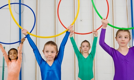 Four, Eight, or 12 Weeks of Kids Gymnastics Classes at Starz Academy (Up to 55% Off)