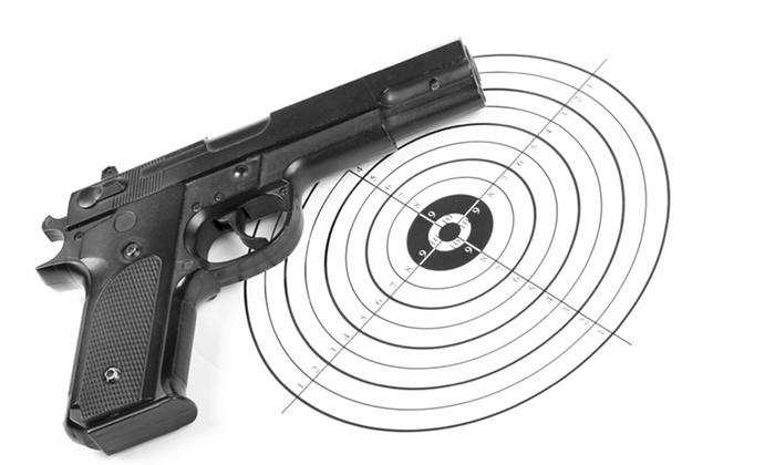 Metro Gun Club - Blaine: One Hour of Pistol-Range Access for One or Two at Metro Gun Club (Half Off)