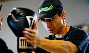Legends Boxing Club: Gym Memberships and Boxing Classes at Legends Boxing Club (Up to 70% Off). Four Options Available.