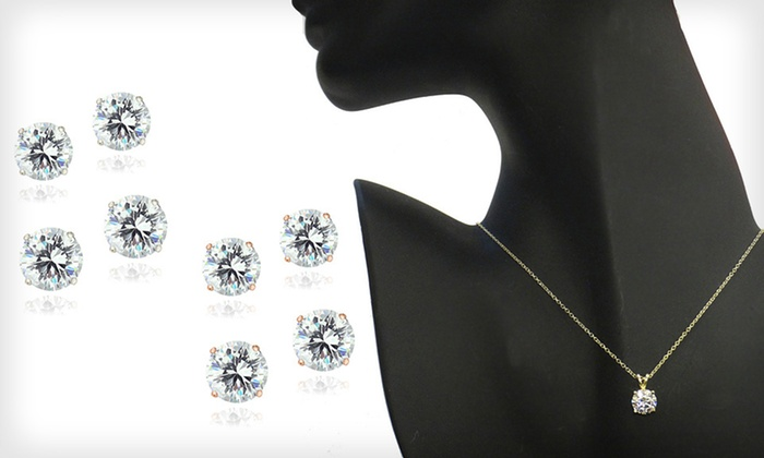 Zirconia Ice Jewelry with Swarovski Zirconia : Jewelry with Swarovski Elements (Up to 76% Off). 12 Styles Available. Free Shipping on Purchases Over $15. Free Returns.