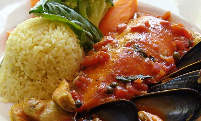 Lago - North Brunswick: Upscale American Meal for Two or Four at Lago (Up to 63% Off)