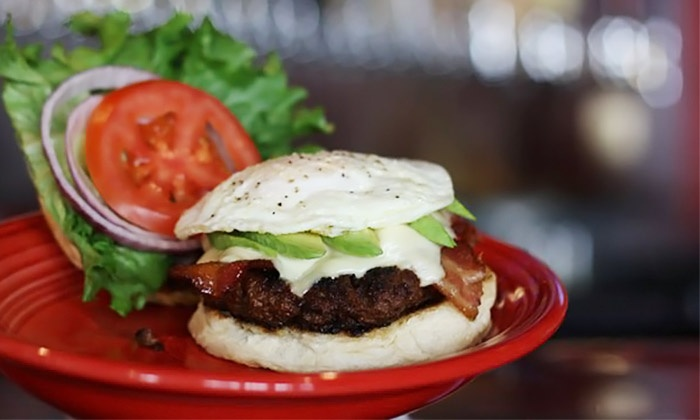 Brewmasters Bar & Grill - Central Raleigh: Casual American Food During Dinner for Two or Four at Brewmasters Bar & Grill in Downtown Raleigh (45% Off)