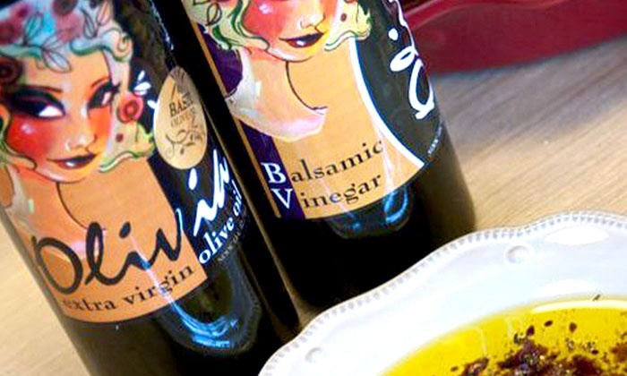 Olivia Olive Oil - Franklin: Tasting of Olive Oils and Balsamics for 10, or $10 for $20 Worth of Olive Oil and Balsamics at Olivia Olive Oil