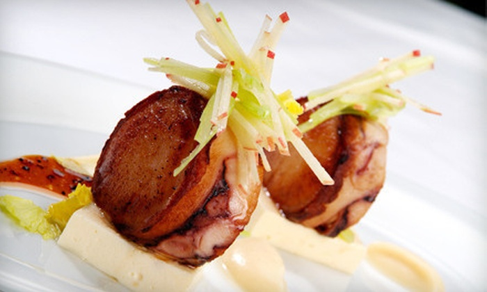 C Restaurant - Downtown Vancouver: $125 for 10-Course Seasonal Seafood Tasting Menu for Two at C Restaurant ($250 Value)