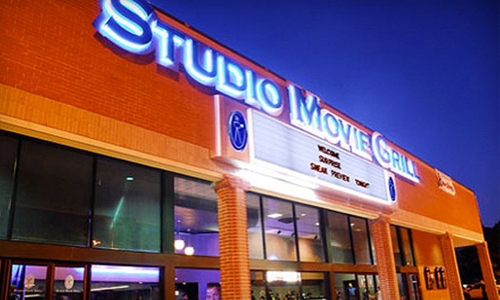 Studio Movie Grill - Multiple Locations: $5 for a Movie Outing with a Ticket at Studio Movie Grill (Up to $10 Value)