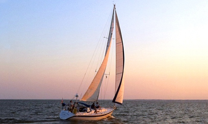 Jersey Coastal Adventures - Forked River: Three- or Four-Hour Sailing Cruise for Up to Three or Six from Jersey Coastal Adventures in Lacey (Up to 57% Off)