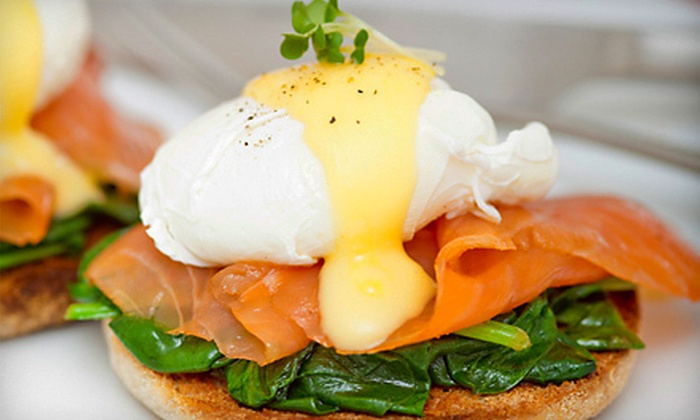 Cafe Luna - Dupont Circle: Brunch and Bottomless Bloody Marys or Mimosas for Two or Four at Cafe Luna (Up to 53% Off)