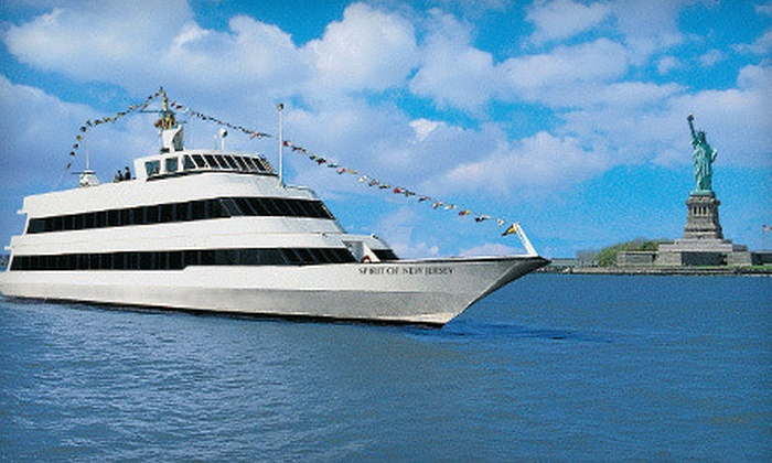 Entertainment Cruises - North Jersey: Three-Hour Dinner Cruise, Redeemable Sunday–Thursday or Friday–Saturday from Entertainment Cruises (Up to Half Off)