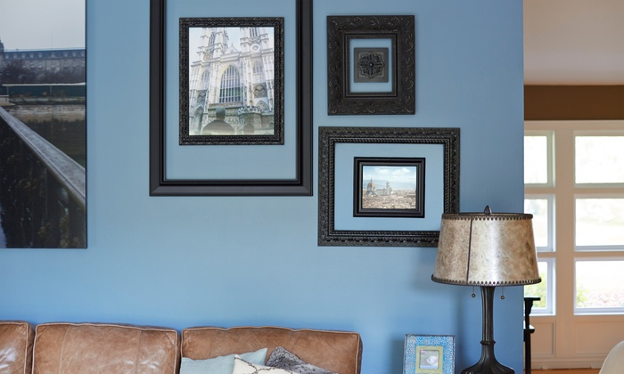 MoonDance Painting - Napa / Sonoma: Eco-Friendly Interior Painting for One or Three Rooms from MoonDance Painting (50% Off)