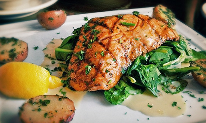 BluWater Bistro - Multiple Locations: $10 for $20 Worth of American Cuisine and Drinks at BluWater Bistro