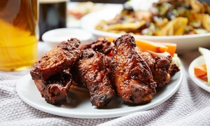 Wings Etc. Grill & Pub: $12 for $20 Worth of Wings, Ribs, and Sandwiches for Two or More at Wings Etc. Grill & Pub