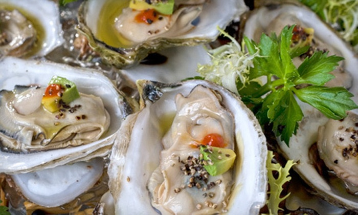 The Oyster House Restaurant - Everglades City: Fresh Seafood at The Oyster House Restaurant (Up to 53% Off). Two Options Available.