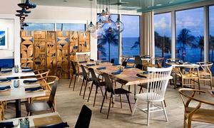 Atlantic Surf Club: Beachside Homestyle Meal for Two at Atlantic Surf Club (Up to 50% Off). Two Options Available.