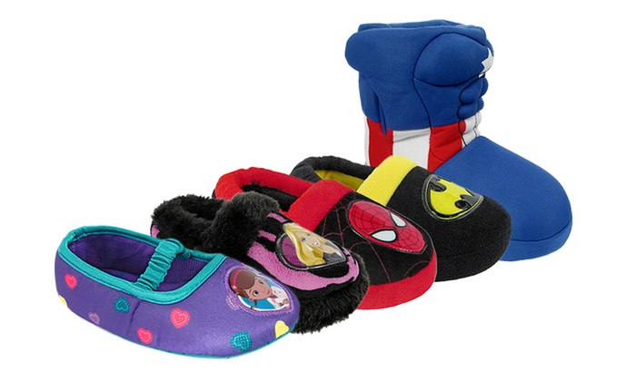 473506a193d Kid s Character Slippers