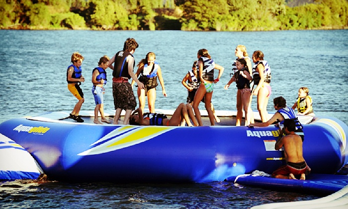 Gyro Beach Watersports - South Pandosy - K.L.O.: One or Two Kayak Rentals or a Water-Park Visit for One, Two, or Four at Gyro Beach Watersports (Up to 55% Off)