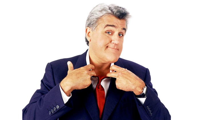 Jay Leno - The Santander Performing Arts Center: Jay Leno at The Santander Performing Arts Center on Thursday, February 12 (Up to 50% Off)