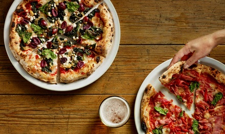 C$15 for C$25 Worth of Pizza, Pasta, Appetizers, and Desserts at Famoso Neopolitano Pizzeria in Victoria