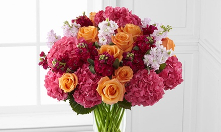 groupon daily deal - $20 for $40 Worth of Flowers and Gifts from FTD.com