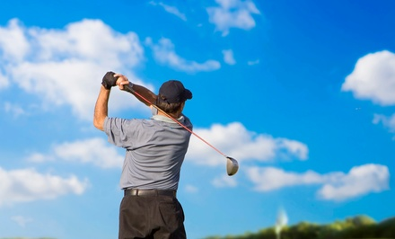 Five 60-Minute Golf Lessons for Adults or 10 Large Buckets of Range Balls at Valley Hi Golf Course (51% Off)