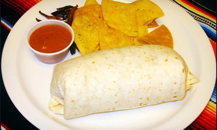 Gorditas El Gordo - Central: $9 for Burritos and Sodas for Two at Gorditas El Gordo (Up to $18.38 Value)