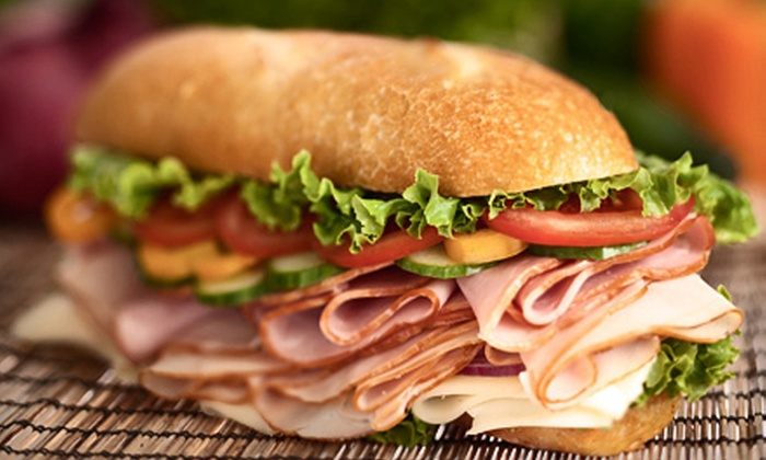 Oakland Park Subs - Central Oakland Park: Lunch for Two or Four with Sandwiches or Salads, Chips, and Drinks at Oakland Park Subs (Up to 63% Off)