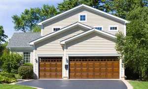 Vantage Garage Doors: $408 for 3/4HP Garage-Door Motor, Keypad, and Installation From Vantage Garage Doors ($540 Value)