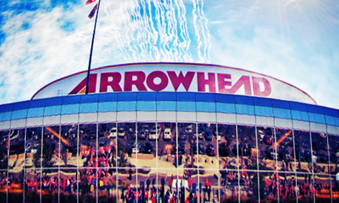 Kansas City Chiefs - Arrowhead Stadium: $35 for Sea of Red Arrowhead Stadium Tour for Two from Kansas City Chiefs (Up to $70 Value)