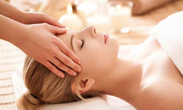 Yuzu Spa - Theater District: 60-Minute Head Massage or 90-Minute Head Massage with Full-Body Massage at Yuzu Spa (Up to 31% Off)