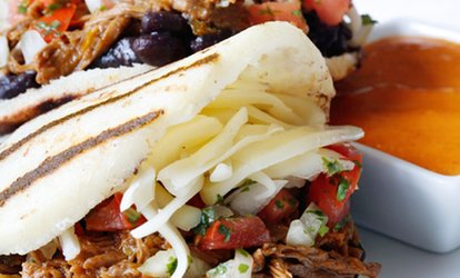 image for $5 for $10 Worth of Venezuelan Arepas, Bowls and Salads at Guasaca Durham