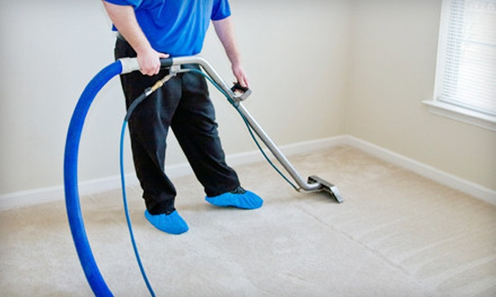 ThoroughClean LLC - Hampton Roads: $49 for Carpet Cleaning for Up to Five Rooms and One Hallway from ThoroughClean LLC ($120 Value)