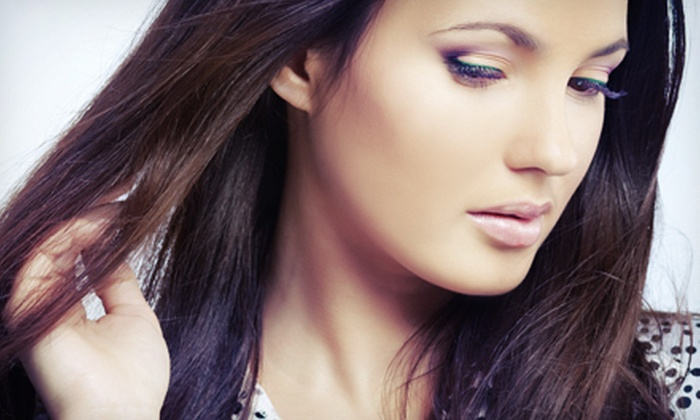 Affinity Wellness Salon & Spa - Rockwall Old Town: Haircut and Style with Option of Partial Highlights or Lowlights and Balayage at Affinity Wellness Salon & Spa (Up to 55% Off)
