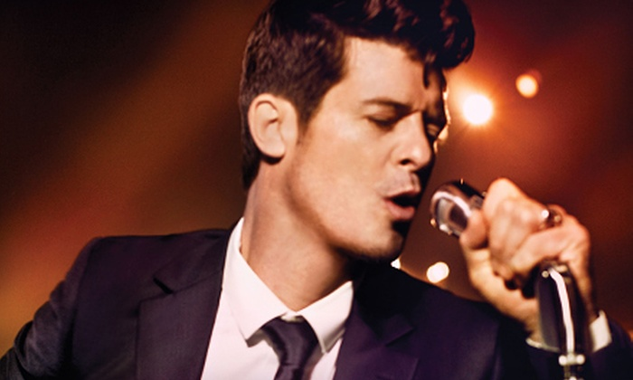 Robin Thicke - The Grand Theater at Foxwoods Resort Casino: Robin Thicke Concert at MGM Grand Theater at Foxwoods Resort Casino on August 26 at 7 p.m. (Up to 49% Off)