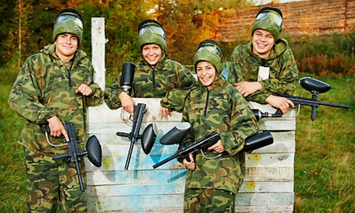 The Paintball Asylum - Jackson: Day of Paintball with Equipment for Two, Four, or Eight at The Paintball Asylum (Up to 64% Off)
