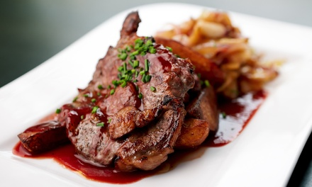 New American Steakhouse Food for Two or Four, or Lunch for Two at Timber Lodge Grill (40% Off)