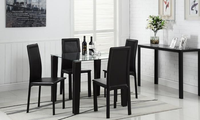 Tavolo da pranzo con sedie | Groupon Goods