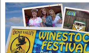 Dove Valley Wine: Up to 52% Off WINESTOCK FESTIVAL  at Dove Valley Wine