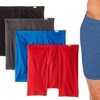 Hanes Men's Tagless ComfortSoft Boxer Briefs (4-Pack)