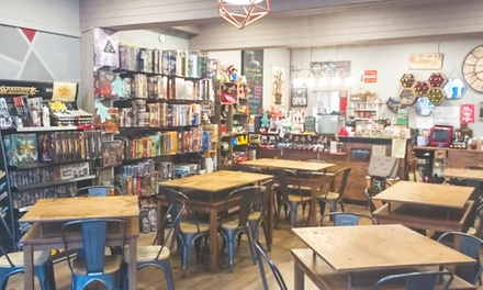 D20 Board Game Cafe