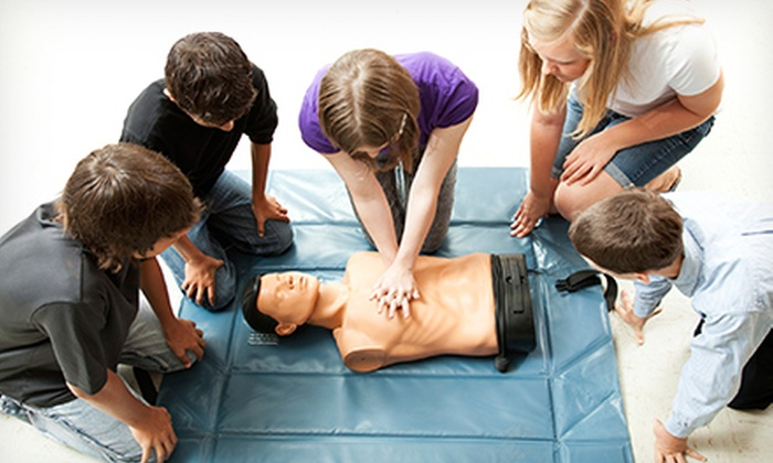Increase Your Knowledge - Multiple Locations: CPR and AED Class with Optional First-Aid Training at Increase Your Knowledge (Up to 54% Off)
