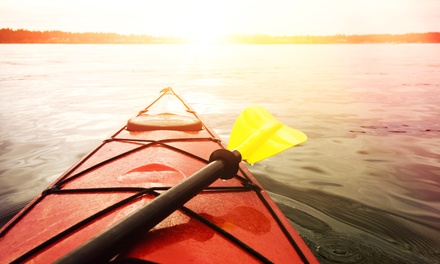 Single or Tandem Kayak Rental or Stand-Up Paddleboard Rental for 1 or 2 at White Rock Paddle Co. (Up to 51% Off)