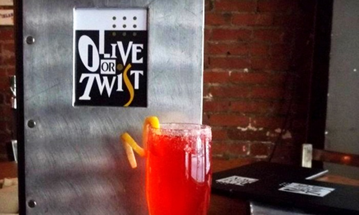 Olive Or Twist - Downtown: $20 Worth of Bistro Food and Craft Cocktails