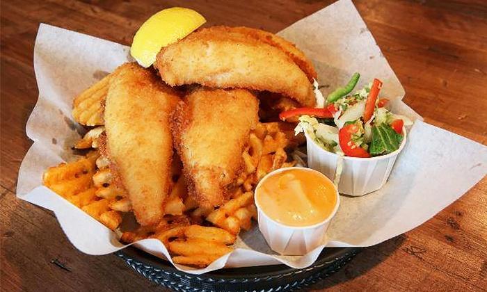 Burke's Irish Castle - Story Hill: Gastropub Food at Burke's Irish Castle (Up to 50% Off). Three Options Available.