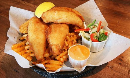 Gastropub Food at Burke's Irish Castle (Up to 50% Off). Three Options Available.