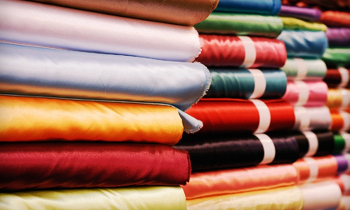 artéé fabrics & home - Multiple Locations: Fine Home Fabrics and Accessories at artéé fabrics & home (Up to 52% Off). Two Options Available.