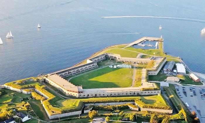 Fort Adams Trust - FORT ADAMS STATE PARK: Individual or Family Membership, or Members of the Garrison Membership to Fort Adams Trust (Up to 50% Off)