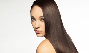 Advance Beauty College: Keratin Deep-Conditioning with Haircut or Shampoo and Iron Styling at Advance Beauty College (Up to 57% Off)