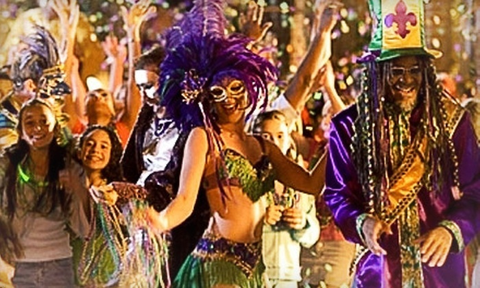 Mardi Gras Jax - Jacksonville Beach: $10 for a Bar Crawl on Saturday, February 9, from Mardi Gras Jax ($20 Value)