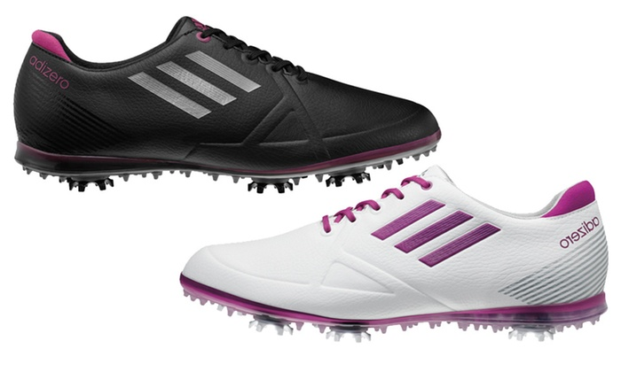 Adidas Women's AdiZero Tour Golf Shoes: Adidas Women's AdiZero Tour Golf Shoes. Multiple Styles Available. Free Shipping and Returns.
